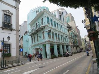 Gli edifici coloniali di Macao