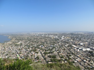 Panorama dal Convento de la Popa
