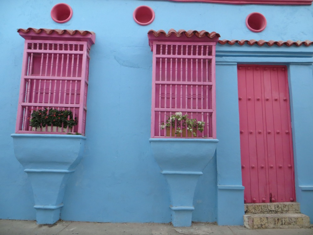 Le vie colorate di Cartagena