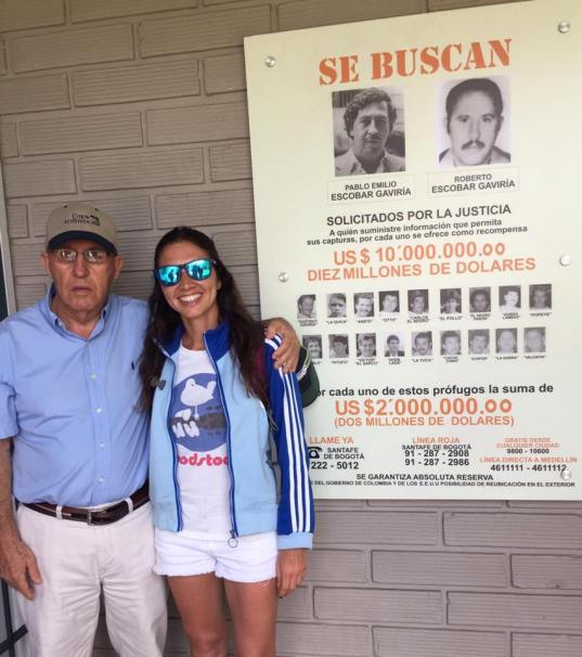Medellín Colombia con Roberto Escobar