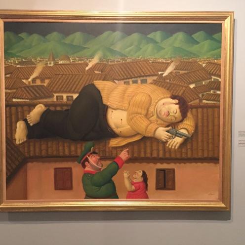 """Pablo Escobar Muerto"" Botero 2006"