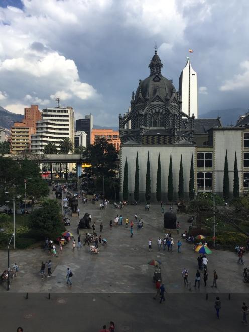 El Palacio del la Cultura Rafael Uribe Uribe