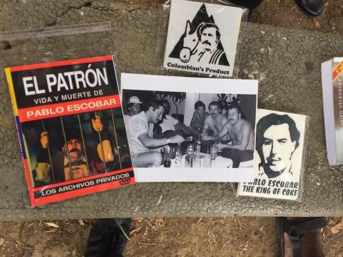 I souvenir di Pablo Escobar