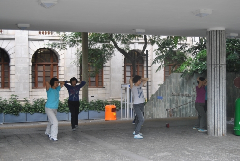 Ovunque vedrete gente praticare Tai Chi